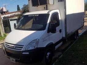 Iveco Daily 2014 Con Equipo De Frío Única Mano Permuto