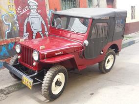Original Jeep Willys Cj3 1950