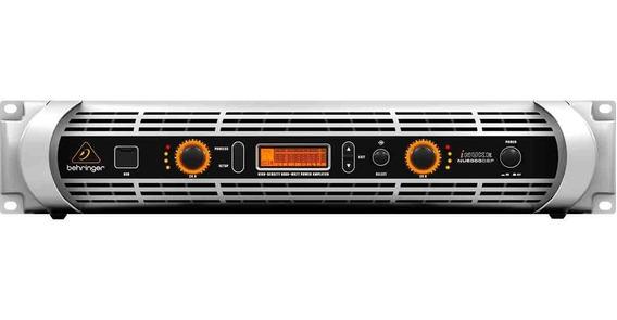 Amplificador C/ Dsp E Usb Inuke Nu6000dsp 220v - Behringer