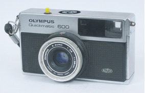 Máquina Fotográfica, Olympus Quickmatic 600, Analógica, Rara