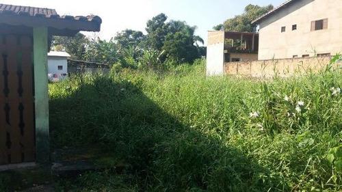 Ótimo Terreno No Jardim Umuarama Em Itanhaém - 4210