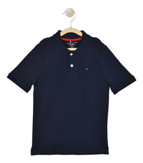 Polo Regular Fit Tommy Hilfiger Azul C517173418-475 Niño