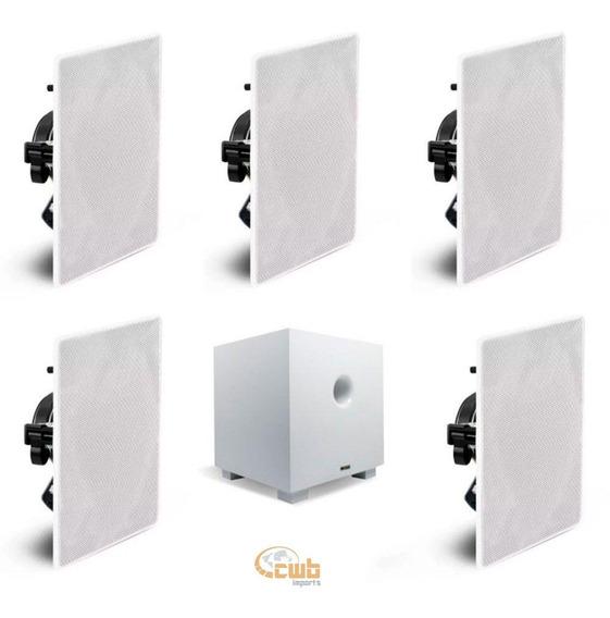 Kit Home Aat Compact Ht 5.1 Com Sub 10 Nq6-m100 Cube 10