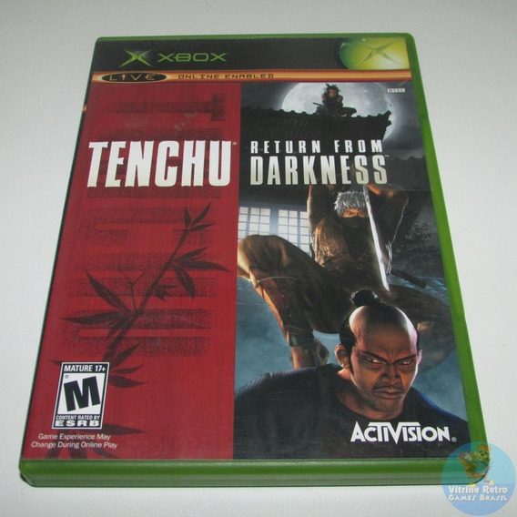 Tenchu Return From Darkness Xbox 1 Original Completo Usa !!!