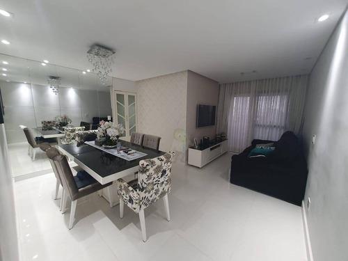 Imagem 1 de 30 de Apartamento Com 3 Dormitórios À Venda, 80 M² Por R$ 425.000,00 - Vila Apiaí - Santo André/sp - Ap1593