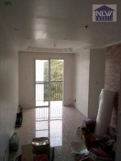Apartamento Com 3 Dormitórios À Venda, 60 M² Por R$ 318.000 - Vila Mendes - São Paulo/sp - Ap1280