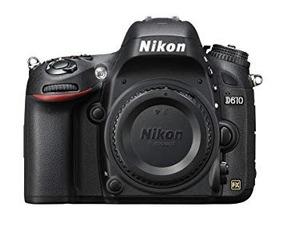 Nikon D610 + Bateria + Carregador + Alça