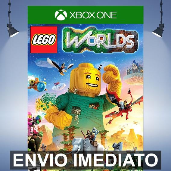 Lego Worlds Xbox One Código 25 Dígitos
