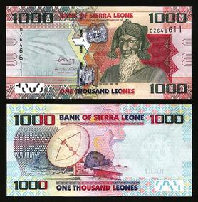 Serra Leoa 1000 Leones 2013 P. 30 Fe Cédula - Tchequito