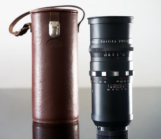Lente Meyer Primotar 135mm 15lamin. Bokeh+ Adapt.canon Eos