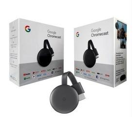 Google Chromecast 3 Hdmi Edição 2019 100% Original 12 X