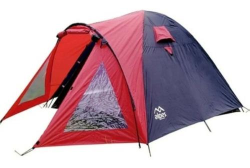 Carpa Alpes 4 Personas Storm Abside Doble Techo Camping Iglu