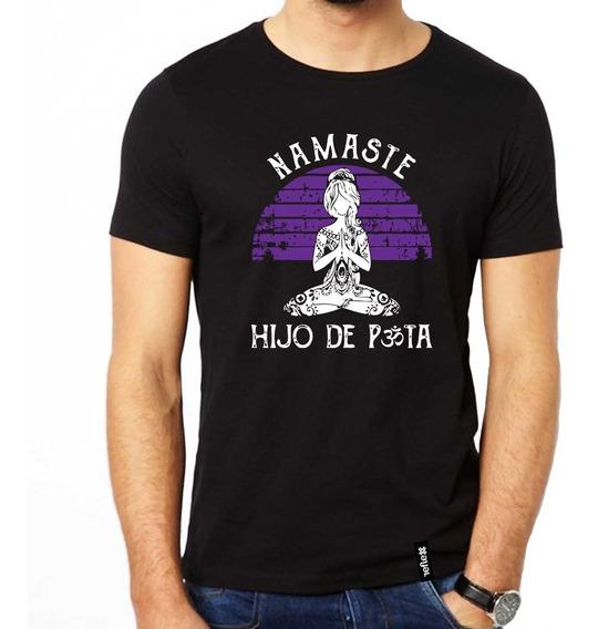 Remera Namaste 100% Algodón Calidad Premium