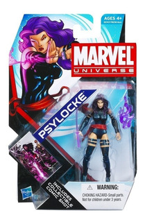 Psylocke X-men Marvel Universe Coleccionable Comics S4 N005