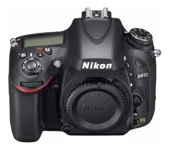 Nikon D610 Dslr Color Negro