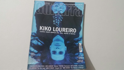 Cover Guitarra 145 - Kiko  Loureiro