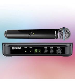 Microfono Inalambrico Shure Sm58 - Blx24 Wireless Vocal