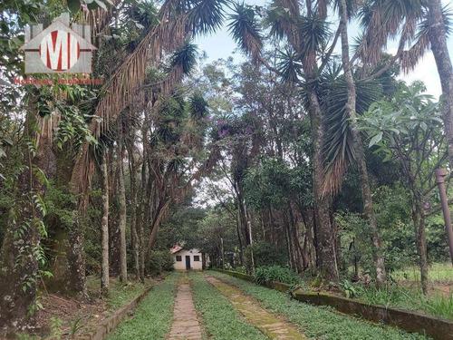 Imagem 1 de 30 de Ótima Chácara Com 03 Dormitórios, Pomar, Vista Deslumbrante, Cômodos Amplos, À Venda, 6000 M² Por R$ 450.000 - Zona Rural - Pinhalzinho/sp - Ch0864