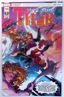 The Migthy Thor #700 Marvel Legacy En Español