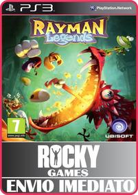 Jogo Rayman Legends Ps3 Digital Psn Envio Imediato Promoção