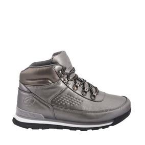 Bota Hiker Casual Plata Suela De Piso Prokenex 22 A 27 79962