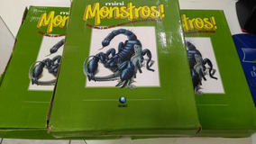 Fascículos Da Globo Mini Monstros