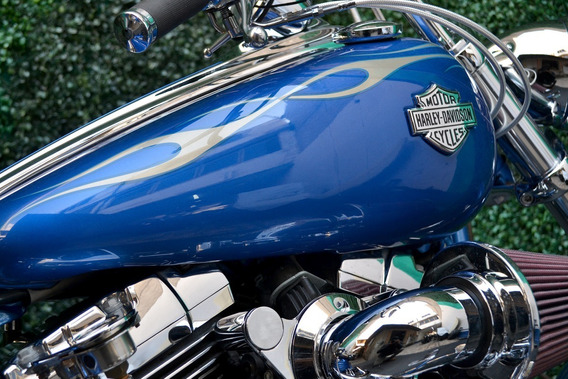 Espectacular Rocker Softail 1584cc Harley Llena De Accesorio