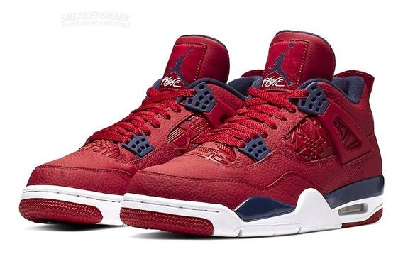 Air Jordan 4 Iv Retro Se Red Said Gold Fiba Sneakershark