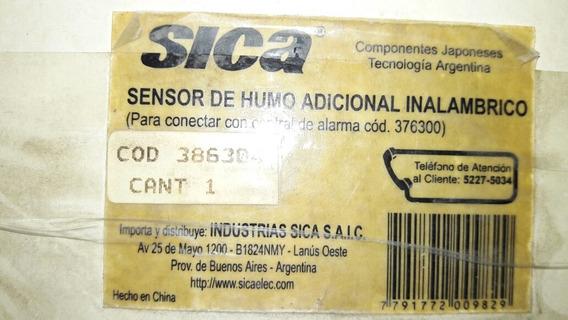Sensor De Humo Inalámbrico Sica Para Alarma 376300 Detector