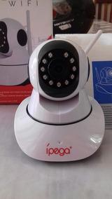 Camera Ip Sem Fio Wifi + Sdcard 4gb