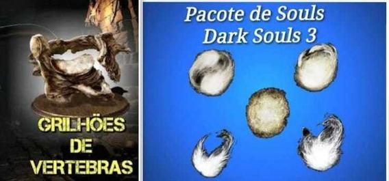360 Milhões De Almas + 30 Grilhões De Vértebras Dark Souls 3