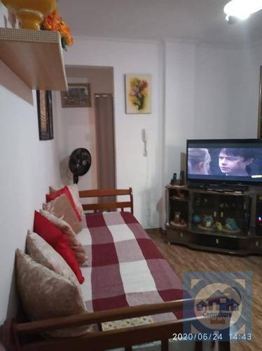 Imagem 1 de 20 de Apartamento Com 1 Dormitório À Venda, 54 M² Por R$ 180.000,00 - Centro - São Vicente/sp - Ap5094