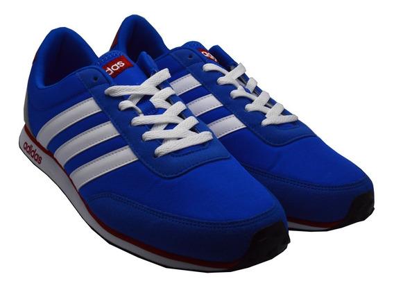 Tenis adidas Hombre Azul Neo V Racer Casual Original Aw5051