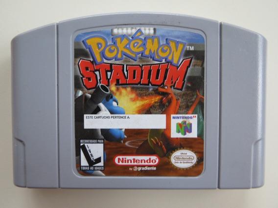 Pokémon Stadium Nintendo 64 N64 - Mídia Física Usado
