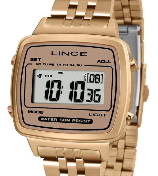 Relógio Feminino Lince Sk68 Original Com Nota Fiscal