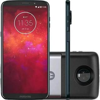 Motorola Xt1929 Moto Z3 Play Power Pack Dtv 64gb | Novo