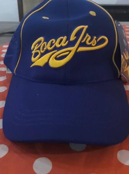 Gorra Con Visera Boca Juniors- Oficial