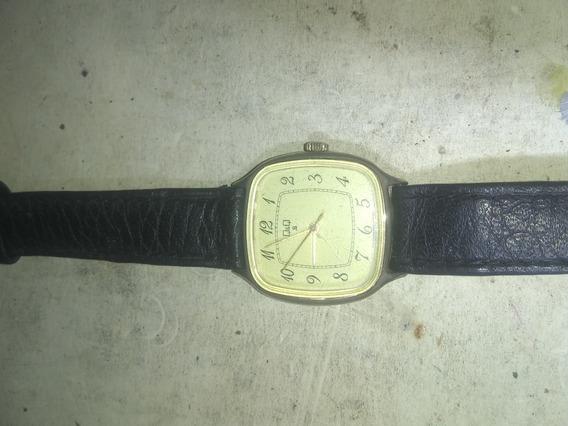 Reloj De Cuerda Vintage Q&q
