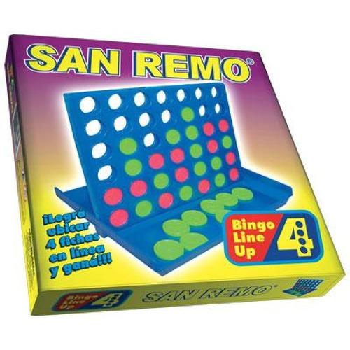 Juego 4 En Linea San Remo Caja
