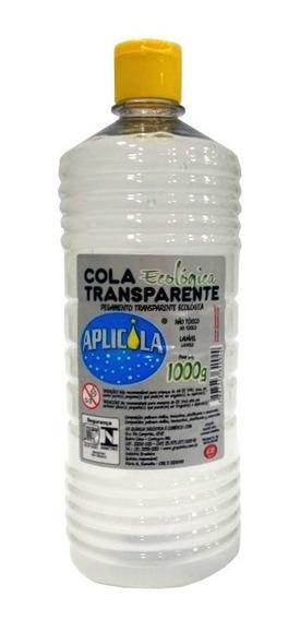Kit C/03 Colas 1kg Transp Ecológica Aplicola Escolar E Slime