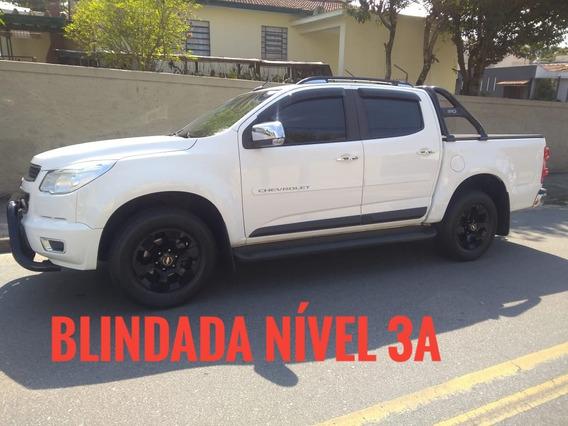 Chevrolet S10 2.4 Ltz Cab. Dupla 4x2 Flex 4p Blindada Imbra