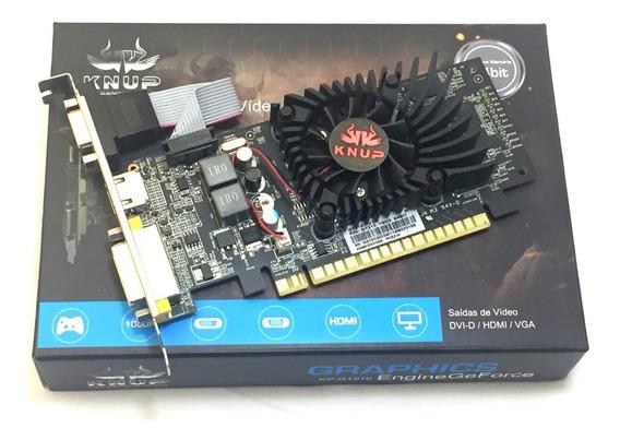 Placa De Vídeo Nvidia Geforce Gt210 1gb Hdmi 64bits Ddr3