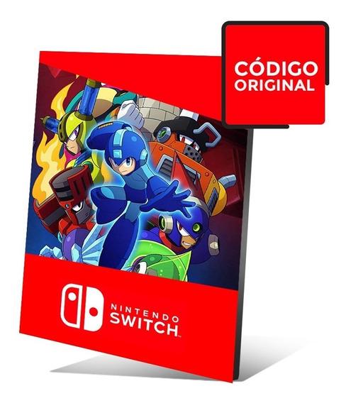 Mega Man 11 - Jogo Nintendo Switch - Código Digital