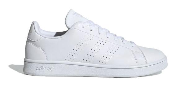 Zapatilla Hombre adidas Advantage Base Original Moda Blanco