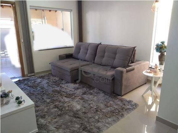 Casa Com 3 Dormitórios À Venda, 125 M² Por R$ 396.900,00 - Santa Luiza Ii - Nova Odessa/sp - Ca6029