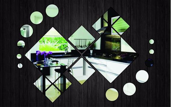 Espelho Grandes De Vidro Decorativo Para Sala - Kit Grande