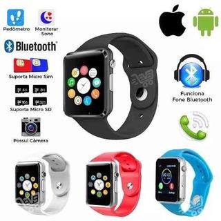 Relógio Smartwatch Original Touch Bluetooth Chip