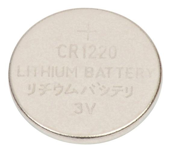 Bateria Cr1220 Botão Cartela 5 Peças Original