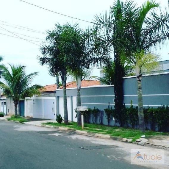 Casa Residencial À Venda, Parque Bom Retiro, Paulínia. - Ca5603