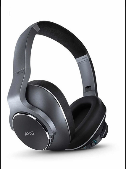 Fone Estéreo Bluetooth Over Ear Akg N700 Nc